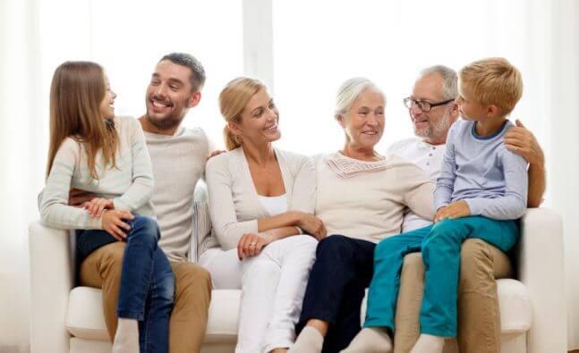 Воссоединение семьи (родители, дети, братья и сестры)