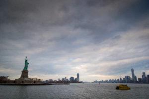 Вид на статую Свободы. Фото Катерины Пановой