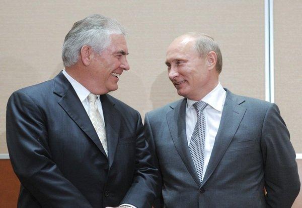 Новый госсекретарь США обожает Путина. Фото picabu.ru