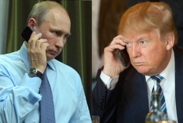 Трамп проведет телефонные переговоры с Путиным  в субботу