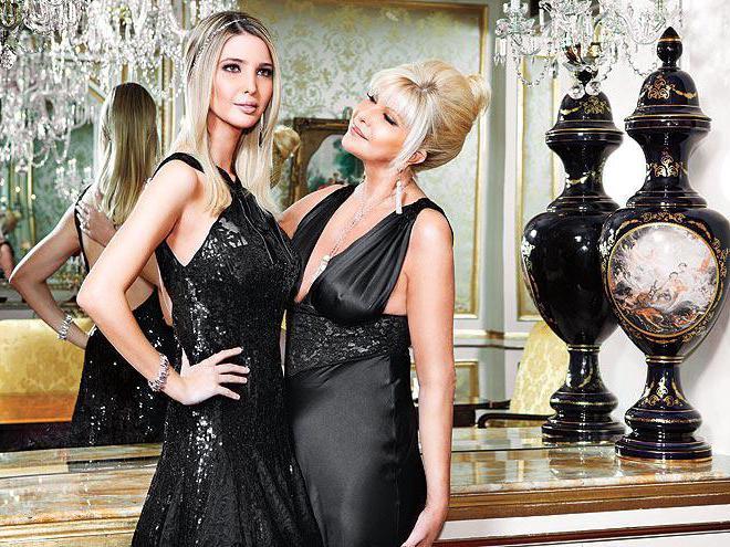 Бывшая жена Дональда Ивана Трамп (справа) и дочь Иванка. Фото http://fb.ru/