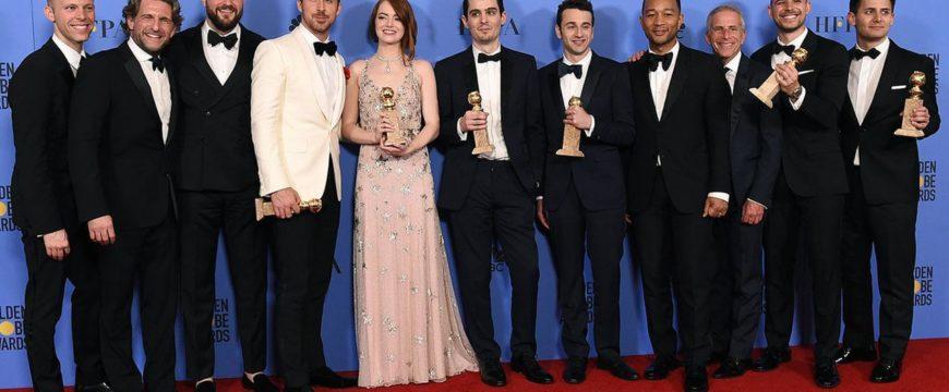 """Победители """"Золотого глобуса"""" Фото: abc7.com"""