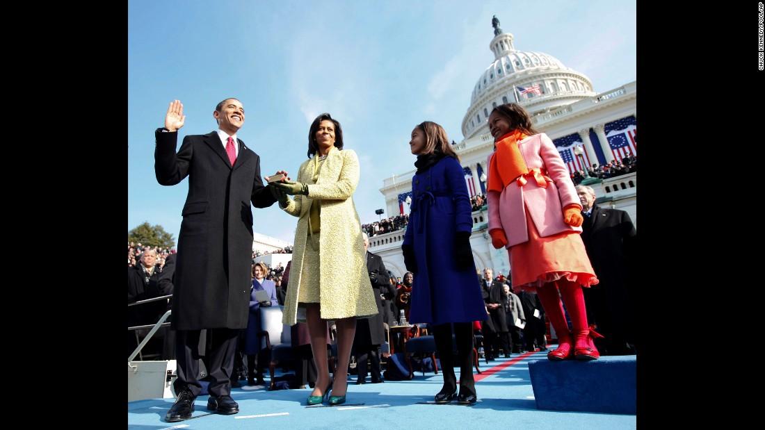 Инаугурация Барака Обамы, 2009 год. Фото: cnn.com