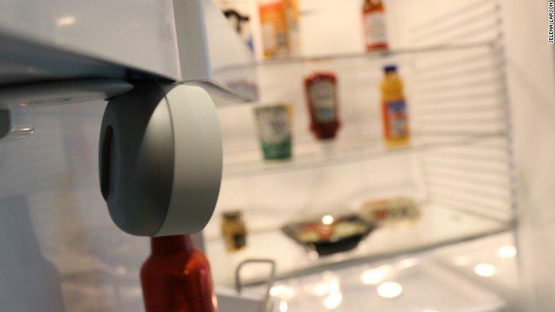 Камера Smarter поможет следить за продуктами. Частично Фото: cnn.com