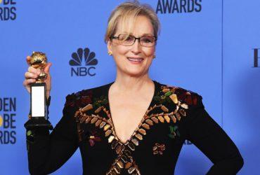 Мэрил Стрип получила почетную награду за заслуги в кино Фото: slate.com