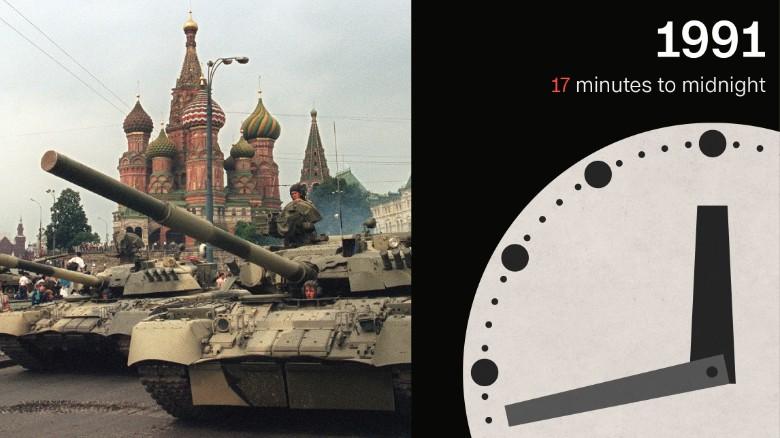 Окончание холодной войны отодвинуло апокалипсис. Фото: cnn.com