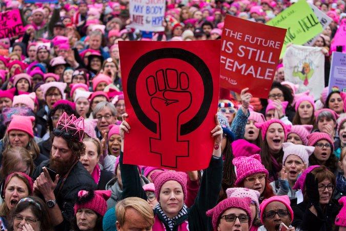 Марш на Вашингтон. Фото nytimes
