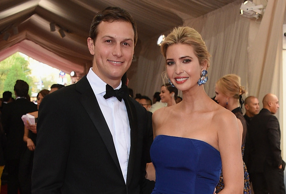Иванка Трамп и ее муж Джаред Кушнер Фото: huffingtonpost.com