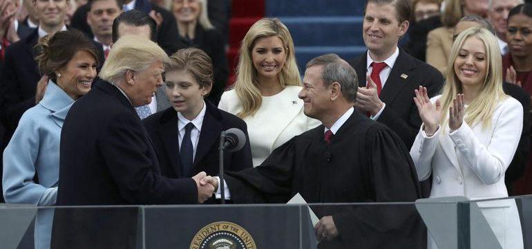 Инаугурация Дональда Трампа, 2017 год. Фото: cbsnews.com