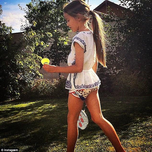 """Некоторые считают, что мама Кристины ее """"сексуализирует"""". Фото: dailymail.co.uk"""
