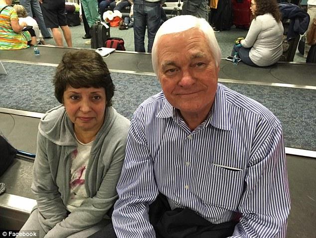 Тони Бартосевич спас жизнь Аннике Дин во время перестрелки Фото: georgianewsday.com