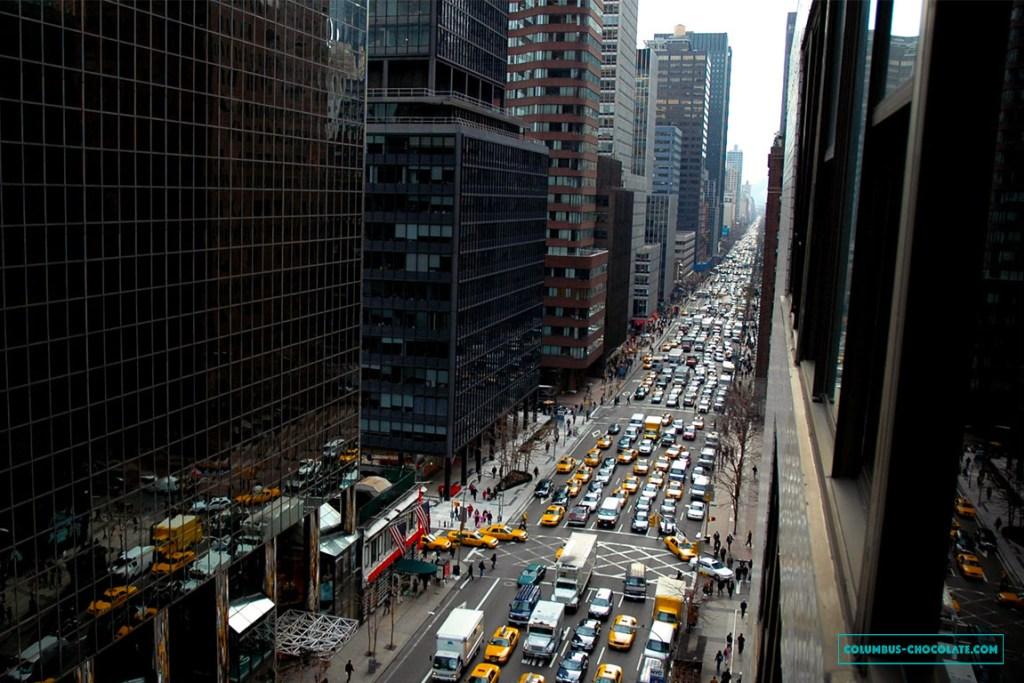Самое удобное средство передвижения в Нью-Йорке - метро. Фото columbus-chocolate.com