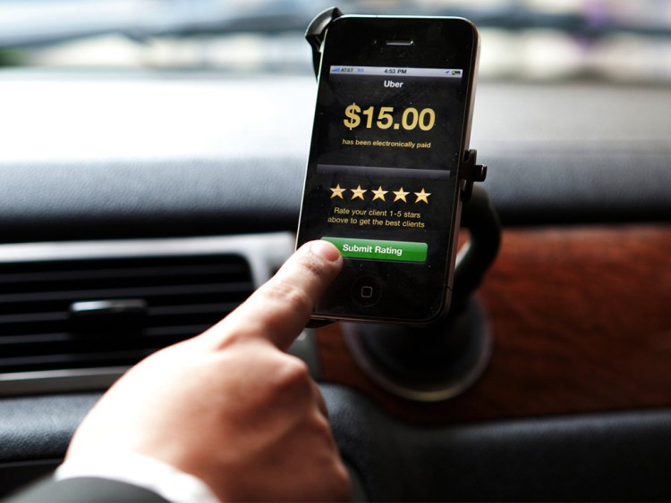 В Uber можно расплатиться только картой. Фото columbus-chocolate.com