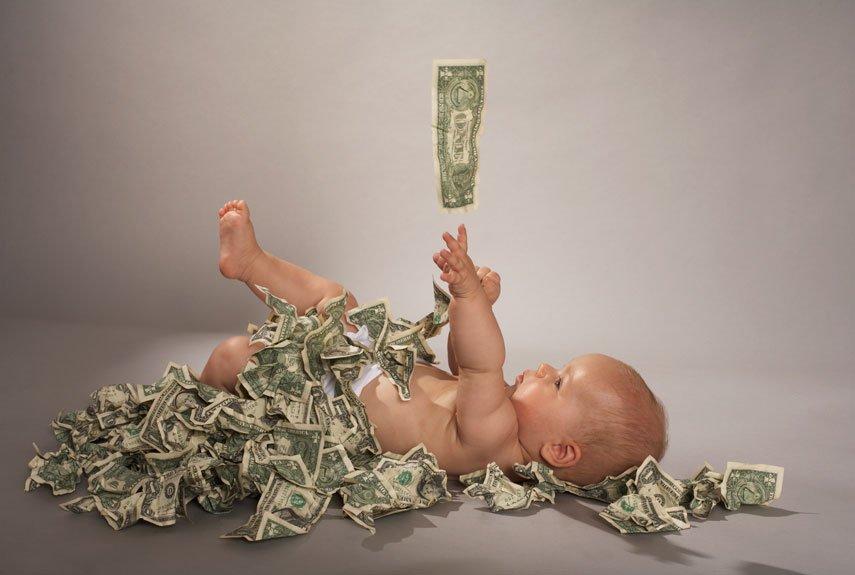 Чтобы воспитать ребенка в США, нужно немало денег Фото: redbookmag.com