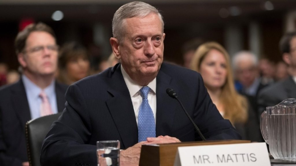 Министр обороны США Джеймс Мэттис. Фото http://ukranews.com/