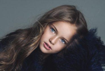 Самая красивая девочка в мире, россиянка, переезжает в США