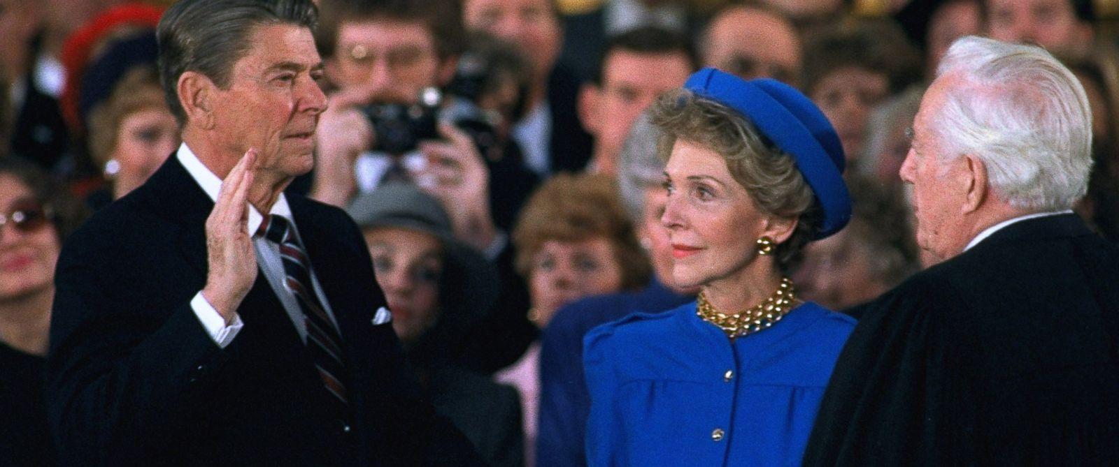 Клятва Рональда Рейгана, 1981 год. Фото: cnn.com