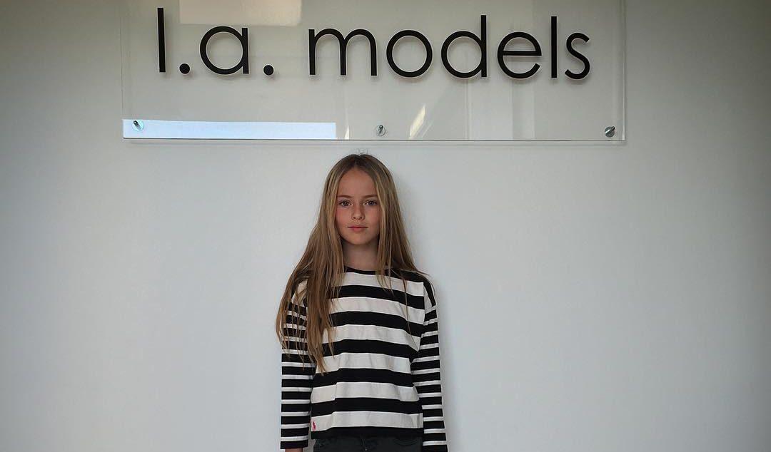 Теперь Кристина работает в LA Models. Фото: mimicolonna.it