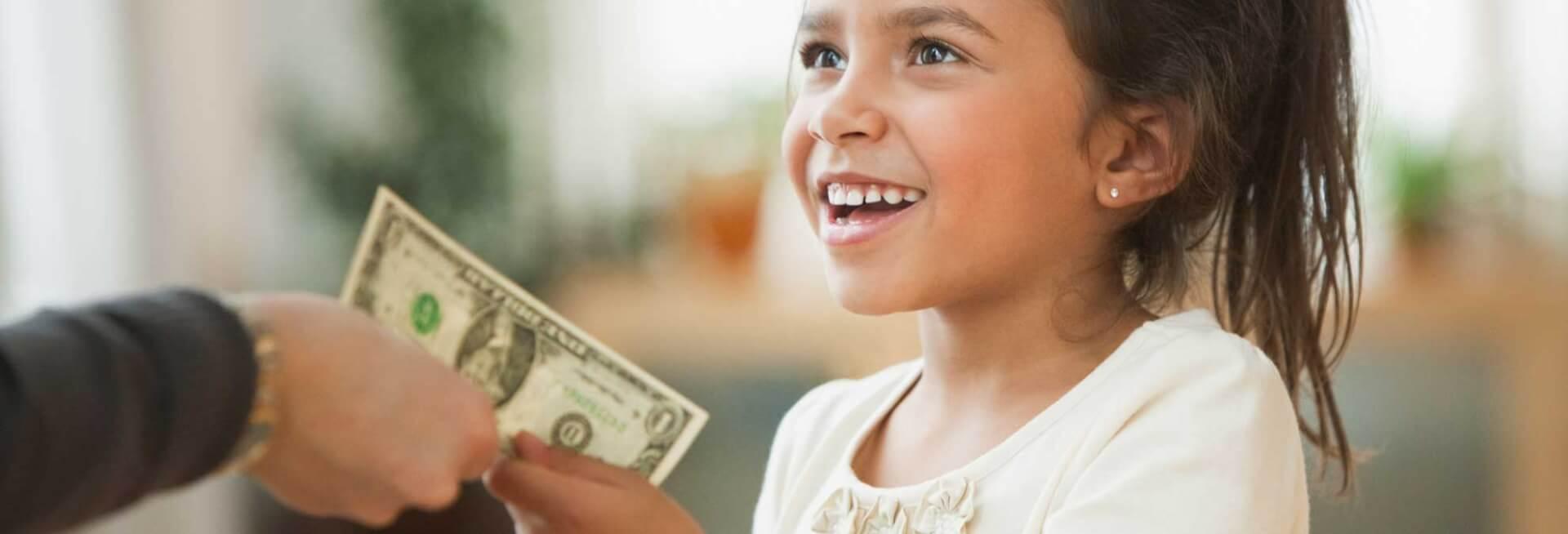 Деньги - неэффективная мотивация для детей. фото: rd.com