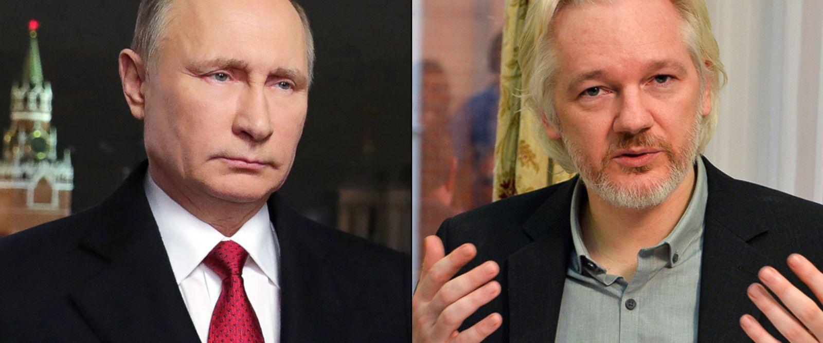Многие факты говорят о связи Ассанжа с Россией Фото: wonkette.com