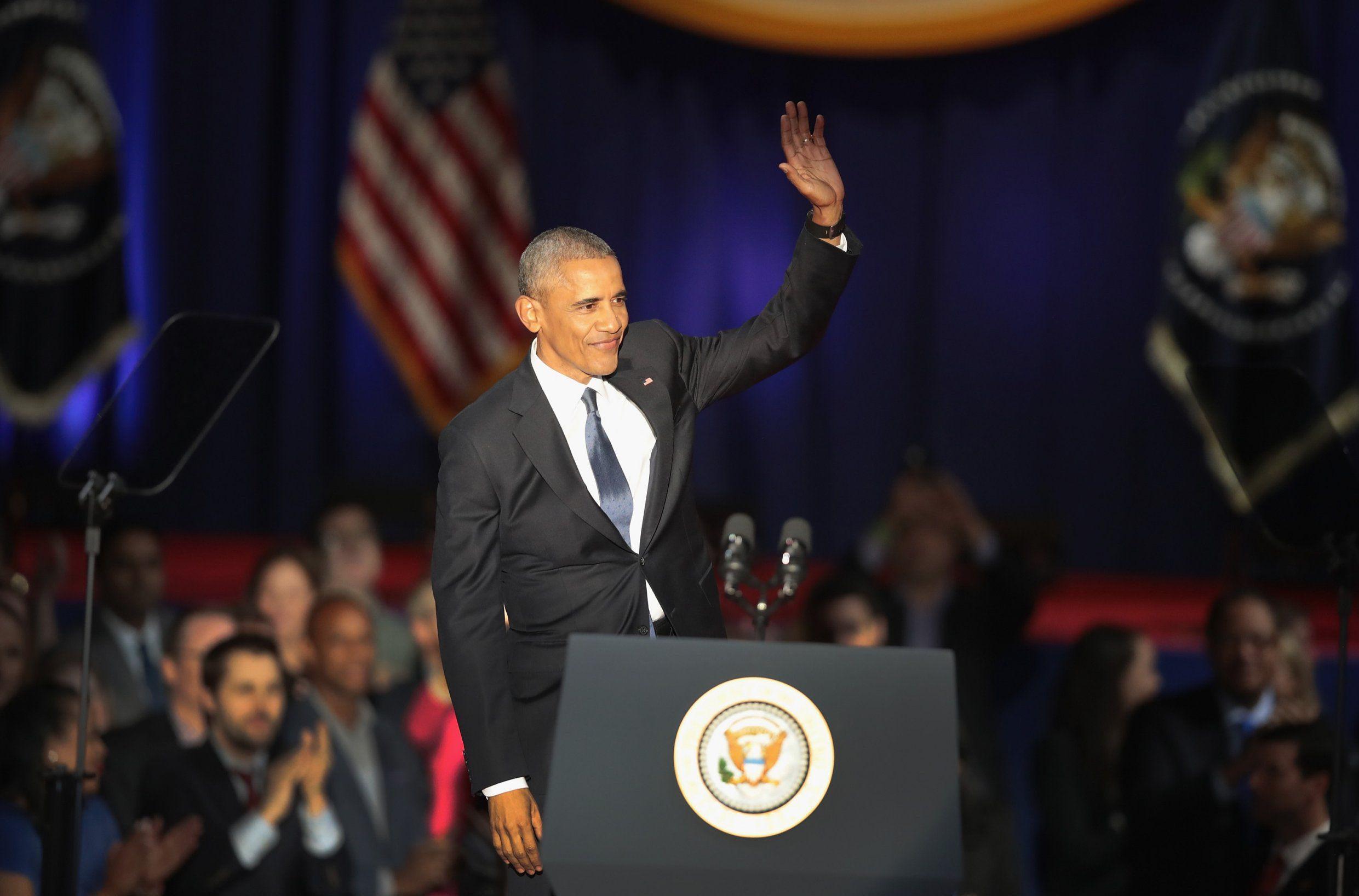 Бараку Обаме остается еще 10 дней в Белом доме Фото: metro.co.uk