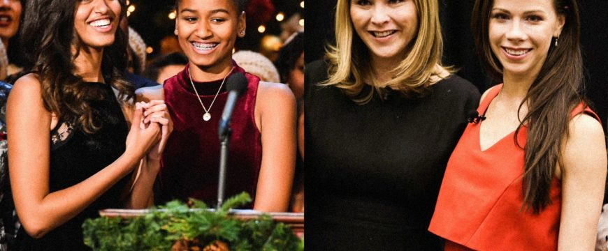 Дочери двух последних президентов США. Фото: vanityfair.com