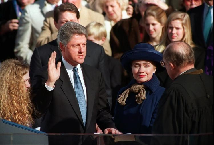Инаугурация Билла Клинтона, 1996 год. Фото: nydailynews.com