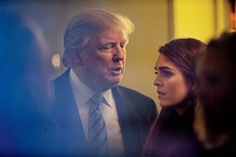 Трамп говорит, что очень ценит Хоуп Хикс. Фото: gq.com