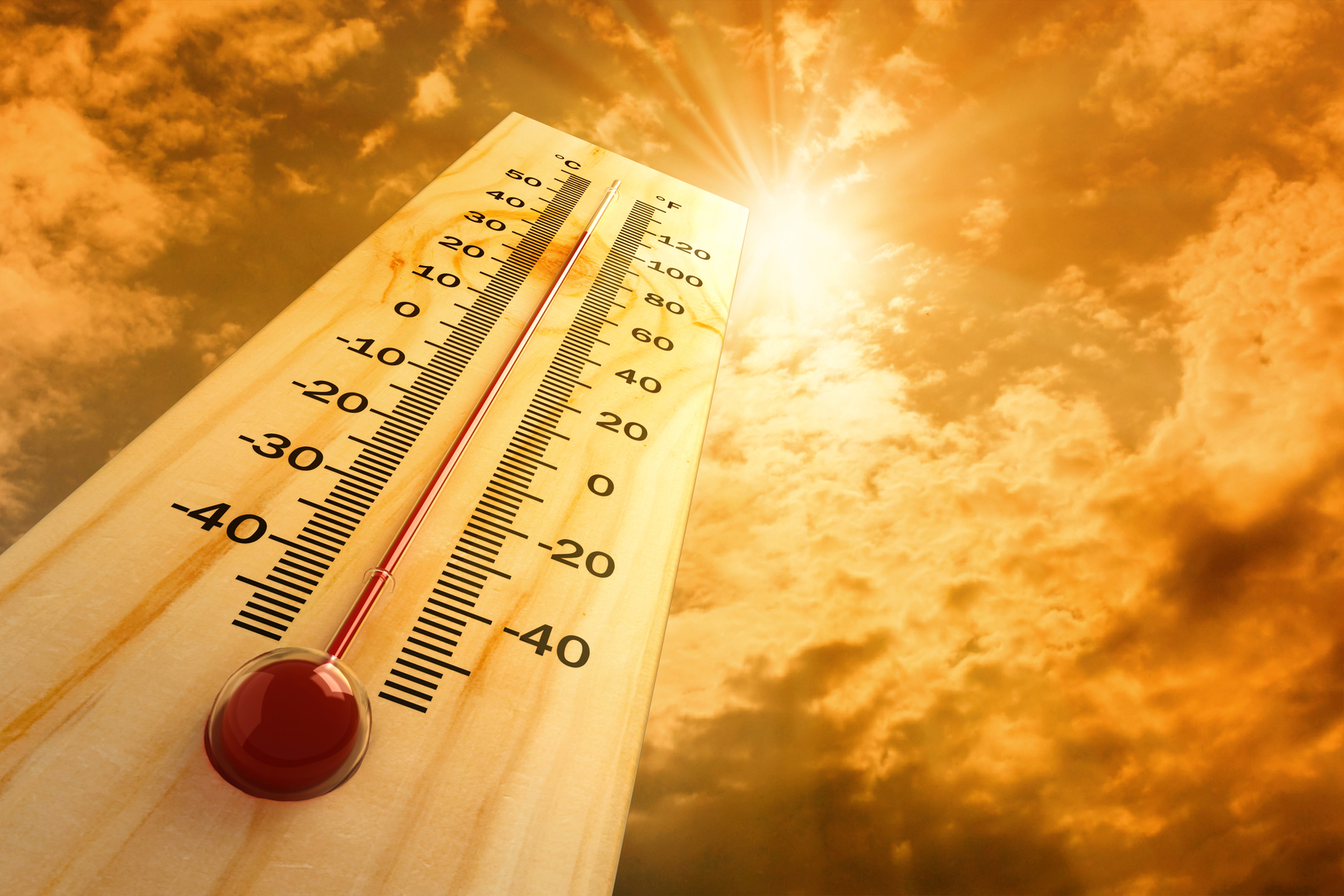 2016 год стал самым жарким в истории. Фото: boirealtors.com