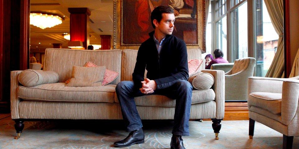 Джек Дорси готовится к новым рабочим будням. Фото businessinsider.com