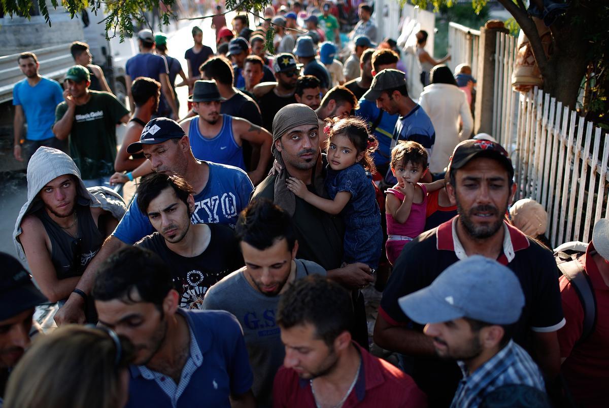 Сирийские беженцы не найдут уюежища в США. Фото: ocregister.com