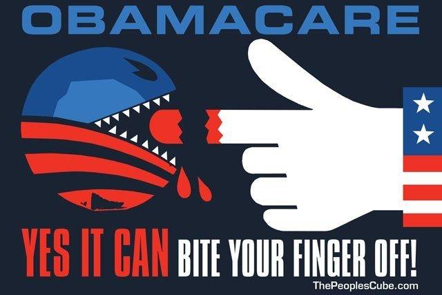 Республиканцы уверены в неэффективности Obamacare Фото: jimbovard.com
