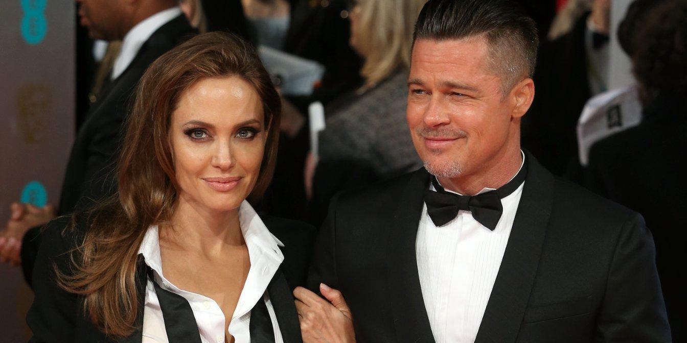 Брэд Питт и Анджелина Джоли были одной из образцовых голливудских пар Фото: businessinsider.my