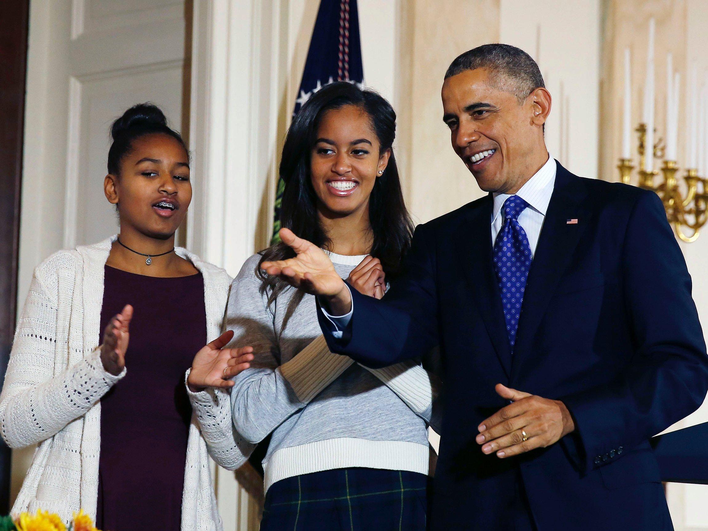 Вскоре семья Обамы покинет Белый дом. Фото: businessinsider.com