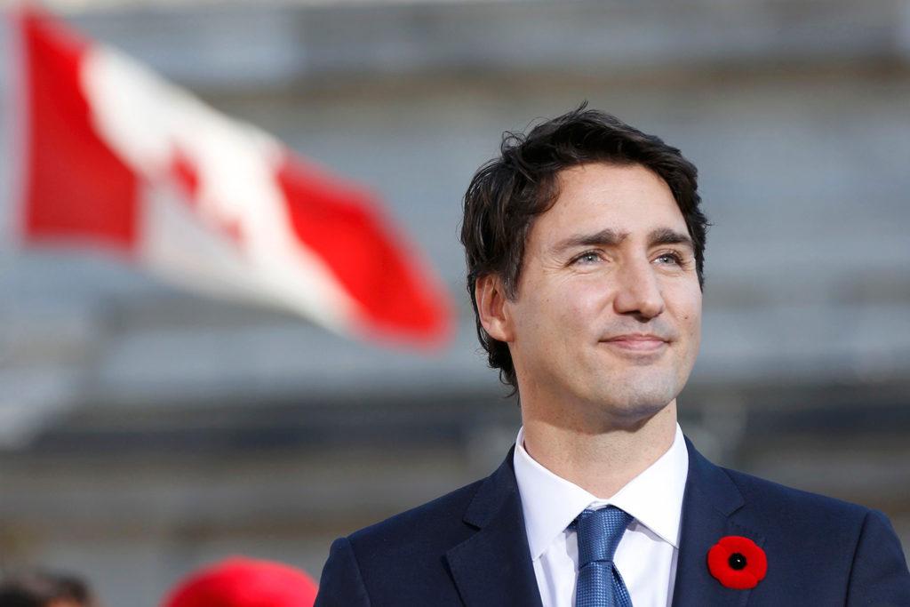 Канадский премьер-министр Джастин Трюдо. Фото gazeta.ru/