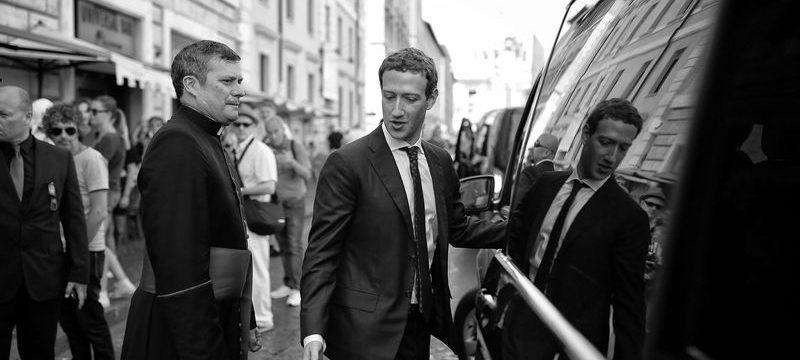 Кто и как создает имидж Цукерберга в Facebook