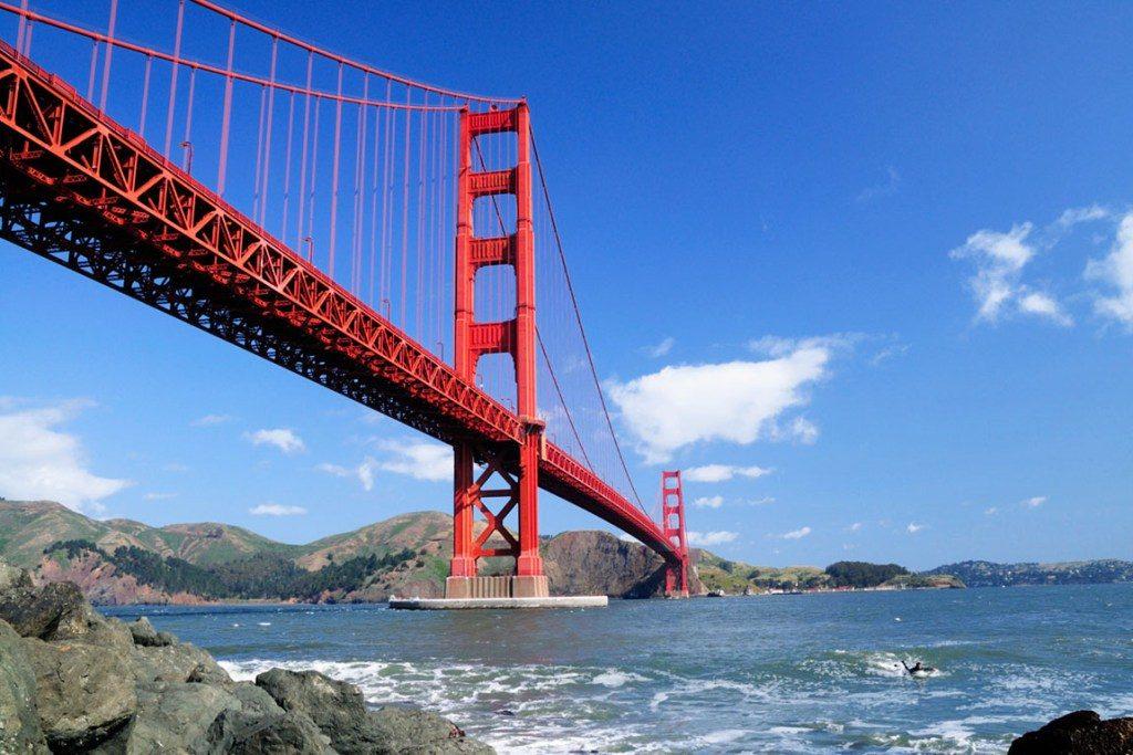 Мост Золотые Ворота - главная достопримечательность города. Фото columbus-chocolate.com