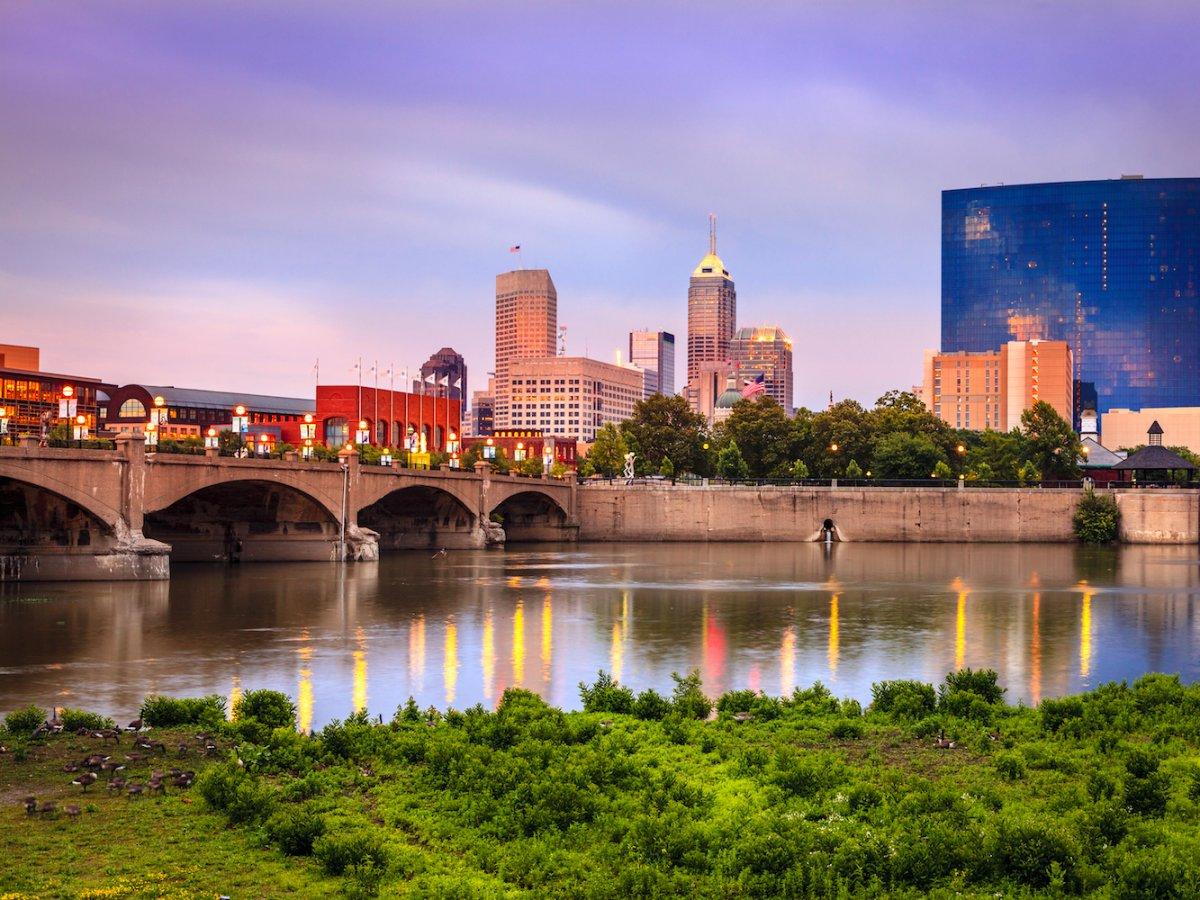 Индианаполис - доступный для покупки жилья город. Фото: businessinsider.com