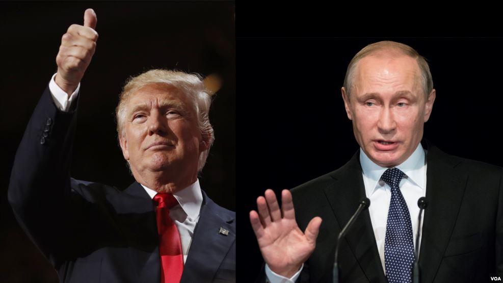 Дискуссии об отношениях Путина и Трампа - частые гости СМИ. Фото topwar.ru