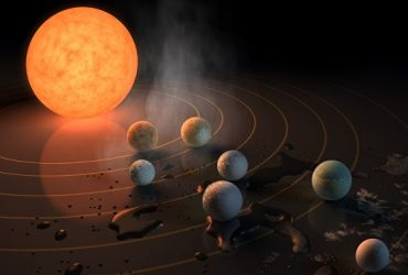 NASA обнаружили 7 похожих на Землю планет
