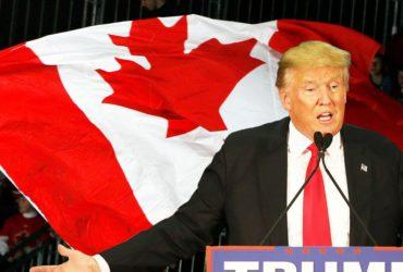 Из-за избрания Дональда Трампа многие американцы хотят перебраться в Канаду. Фото: slate.com
