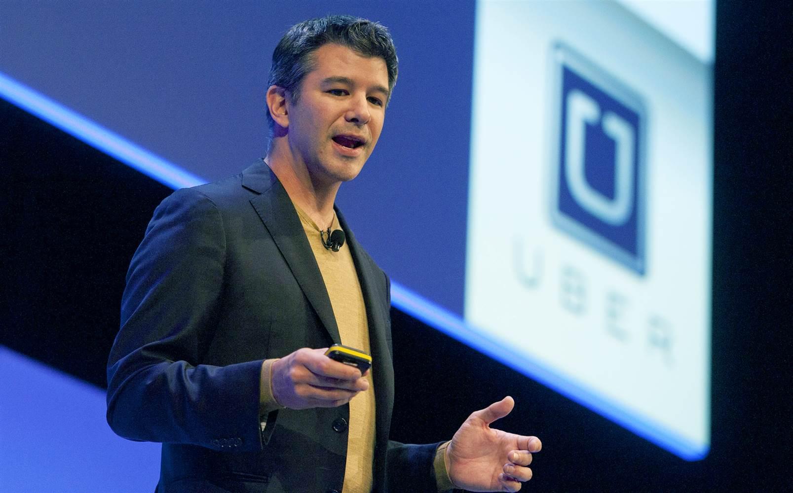 Основатель Uber Трэвис Каланик. Фото: nbcnews.com
