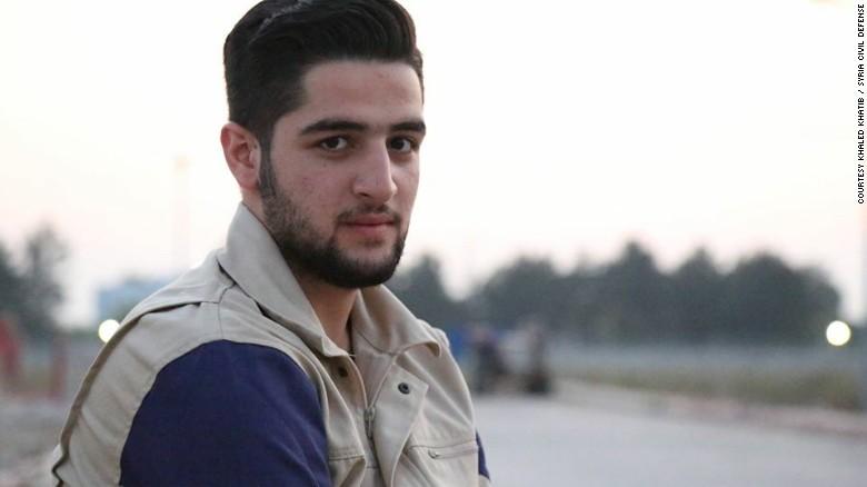 Халед Хатиб - сирийский оператор. Фото: cnn.com
