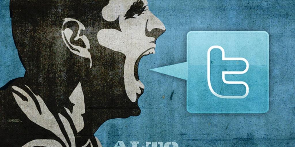 Твиттер раньше меньше беспокоился о оскорбительном содержании постов в сети. Фото: dailydot.com