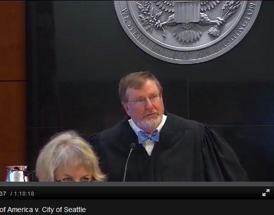 Судья Джеймс Робарт. Фото publicbroadcasting.net