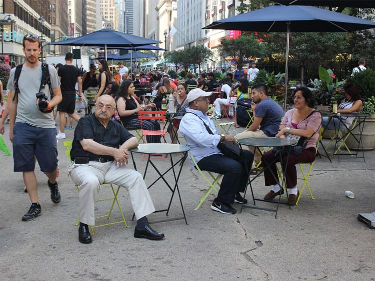 Herald square park. Фото columbus-chocolate.com