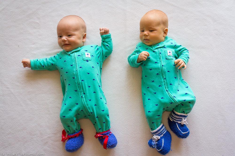 Комбинезоны - лучшая одежда для младенцев. Фото http://le-milady.livejournal.com