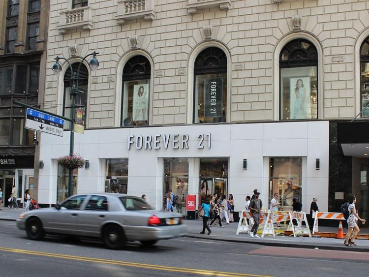 Forever 21. Фото columbus-chocolate.com