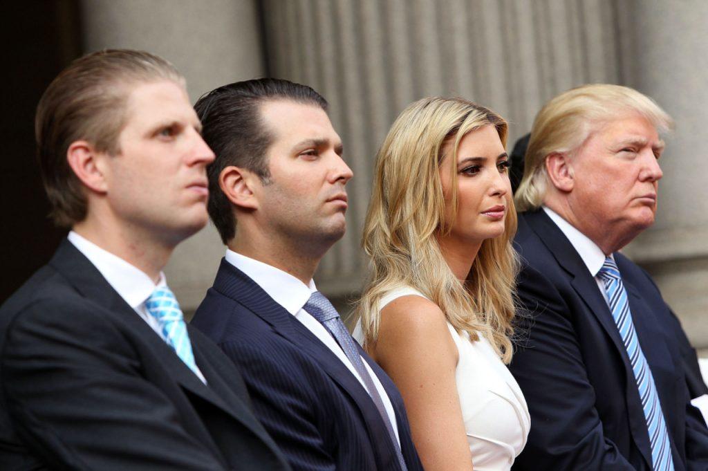 Иванка Трамп имеет большое влияние на своего отца. Фото cmtt.ru