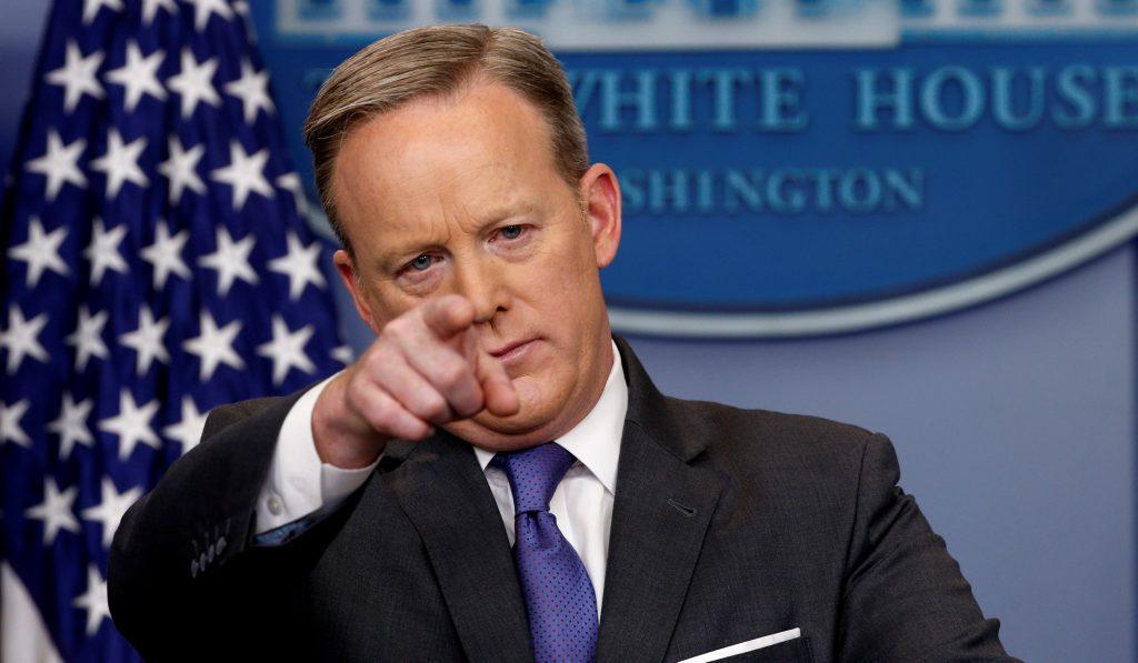 Пресс-секретарь Белого дома Шон Спайсер. Фото kpcdn.net